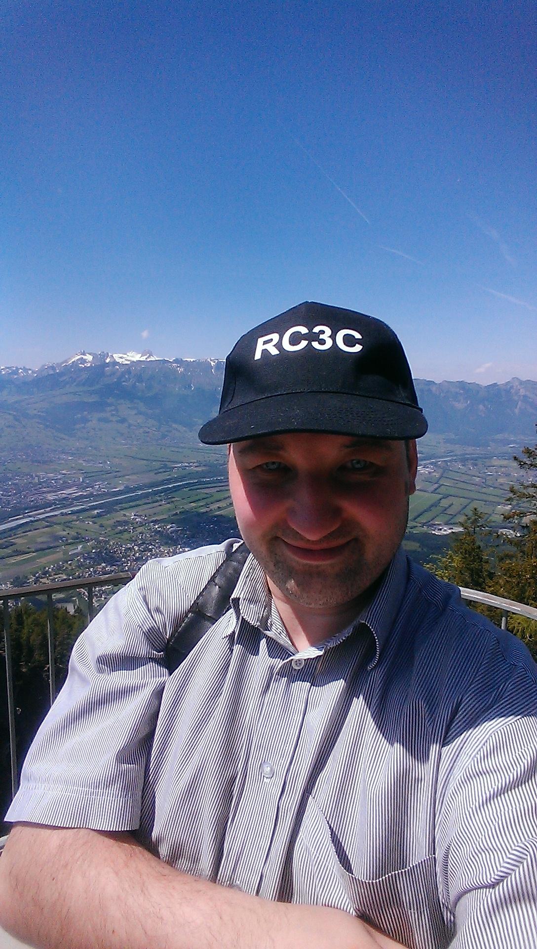 Фото HB0/RC3C гора Тризенберг, 2015 год